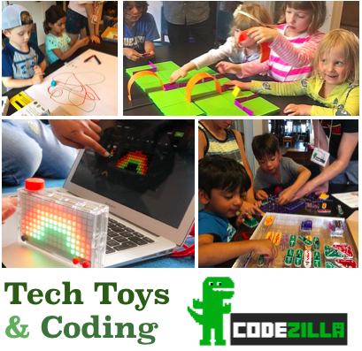 Codezilla Tech Toys Level 1+2