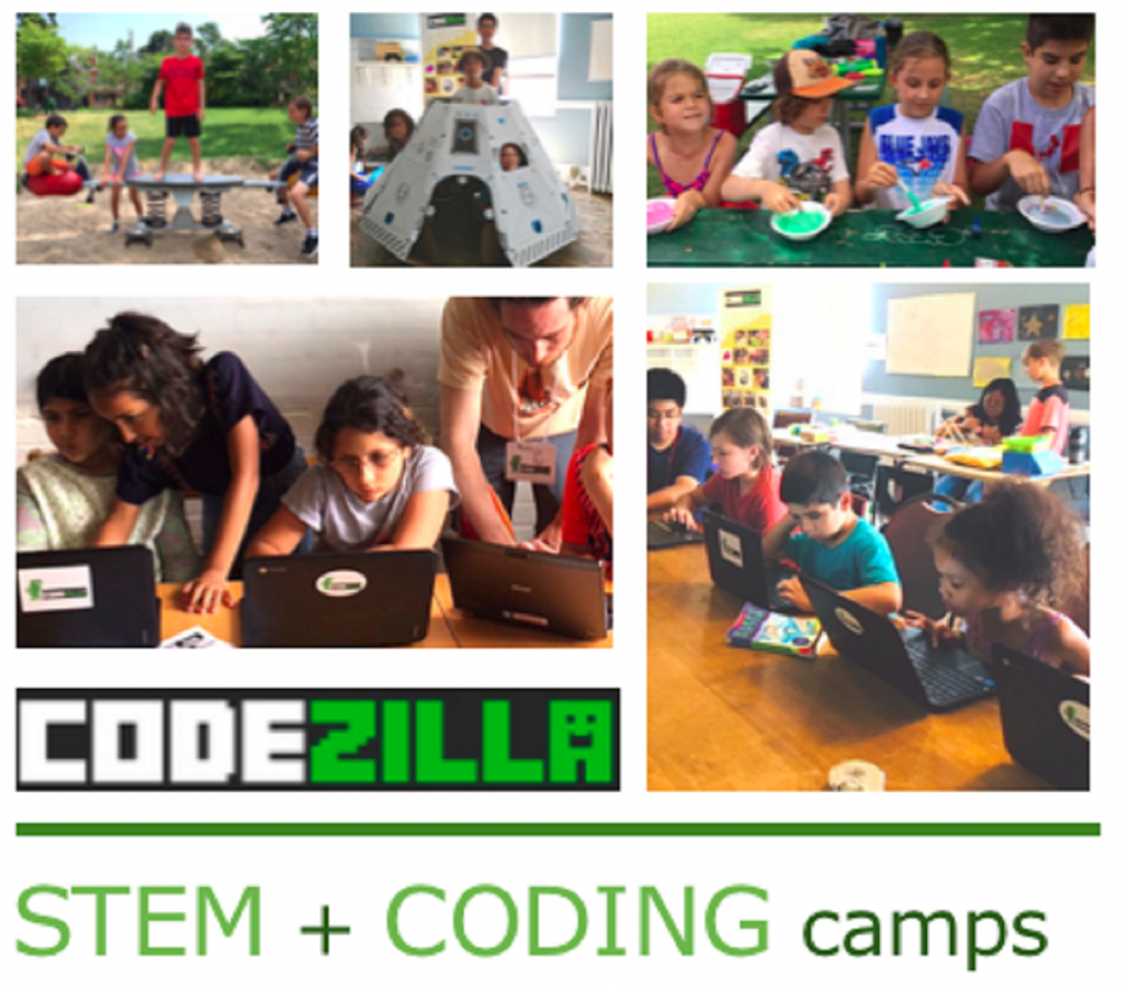 STEM + Coding Camps